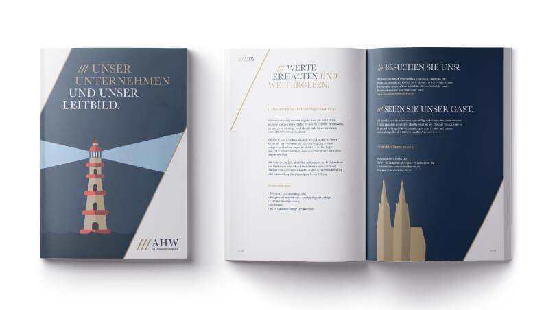 AHW Unternehmerkanzlei - Unser Unternehmen Broschüre Teaser